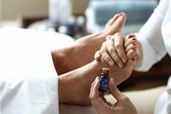 Essential Oils feet