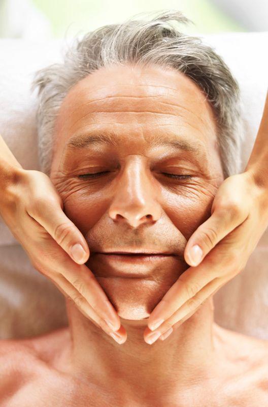 Facial man anti aging