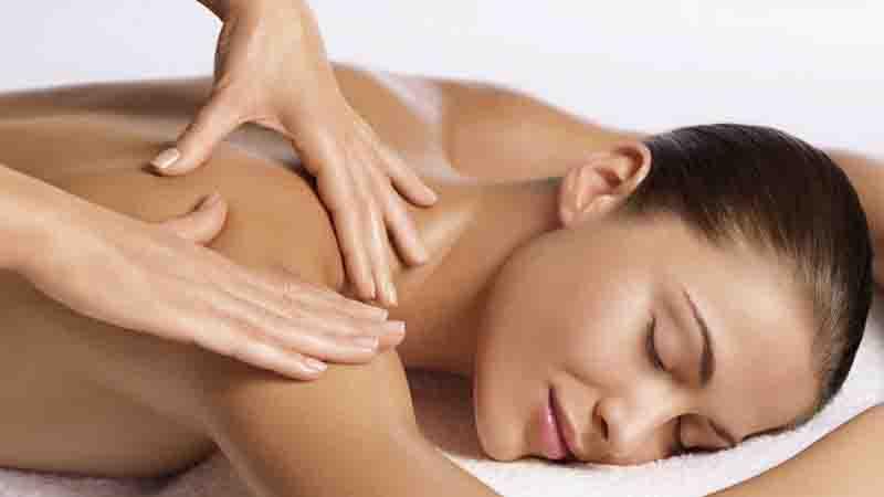 Massage woman 1
