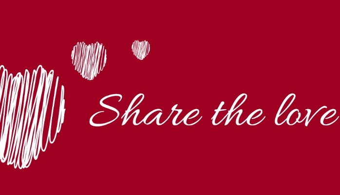 Share the love red