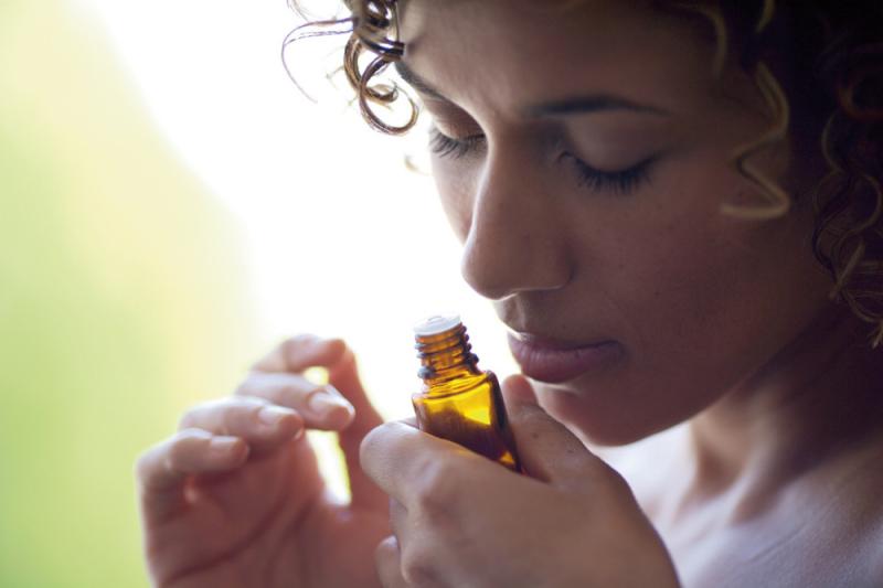 Essential Oils inhaling