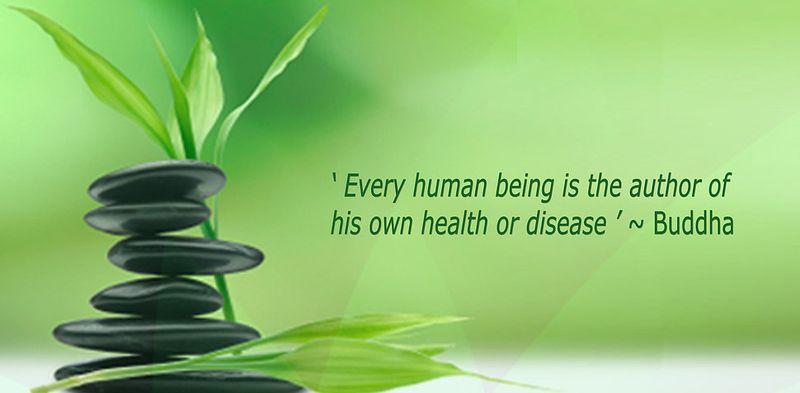 Buddha quote on health