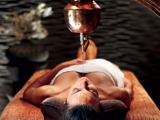 Spa Services Oil Treatment