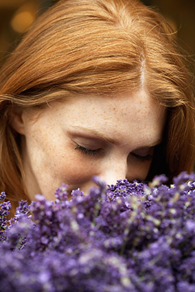 Lavender stress reduction