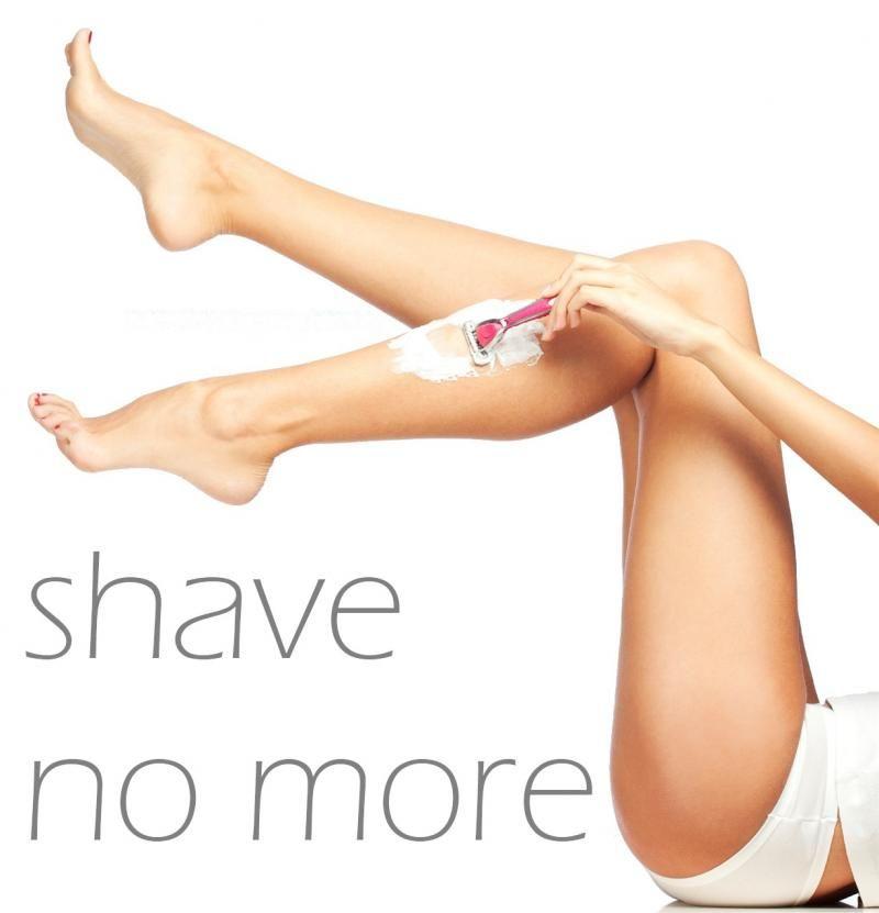 Laser shave no more a